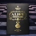 ALICE IN WONDERLAND PLAYING CARDS CARDISTRY ED.(BLACK)