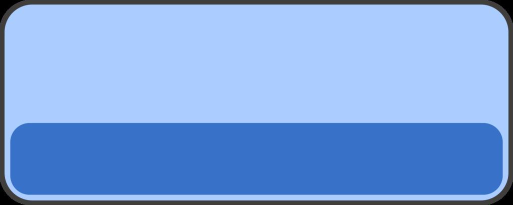 フリー素材ボタン 青