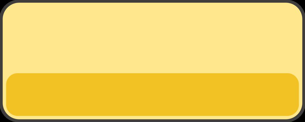 フリー素材ボタン 黄色