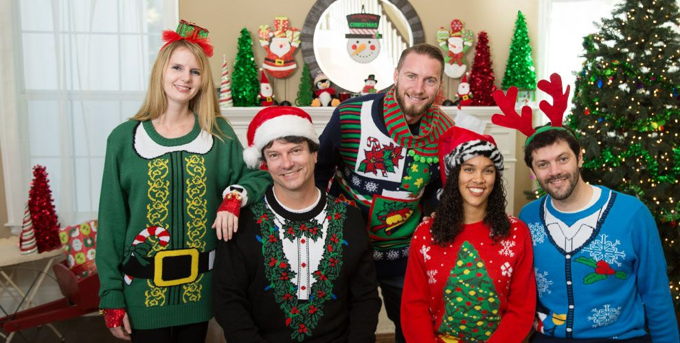 The Ugly Christmas Sweater Party.Why Ugly Christmas Sweater Party For This Christmas