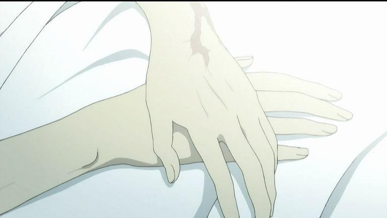 信彦の腕の傷
