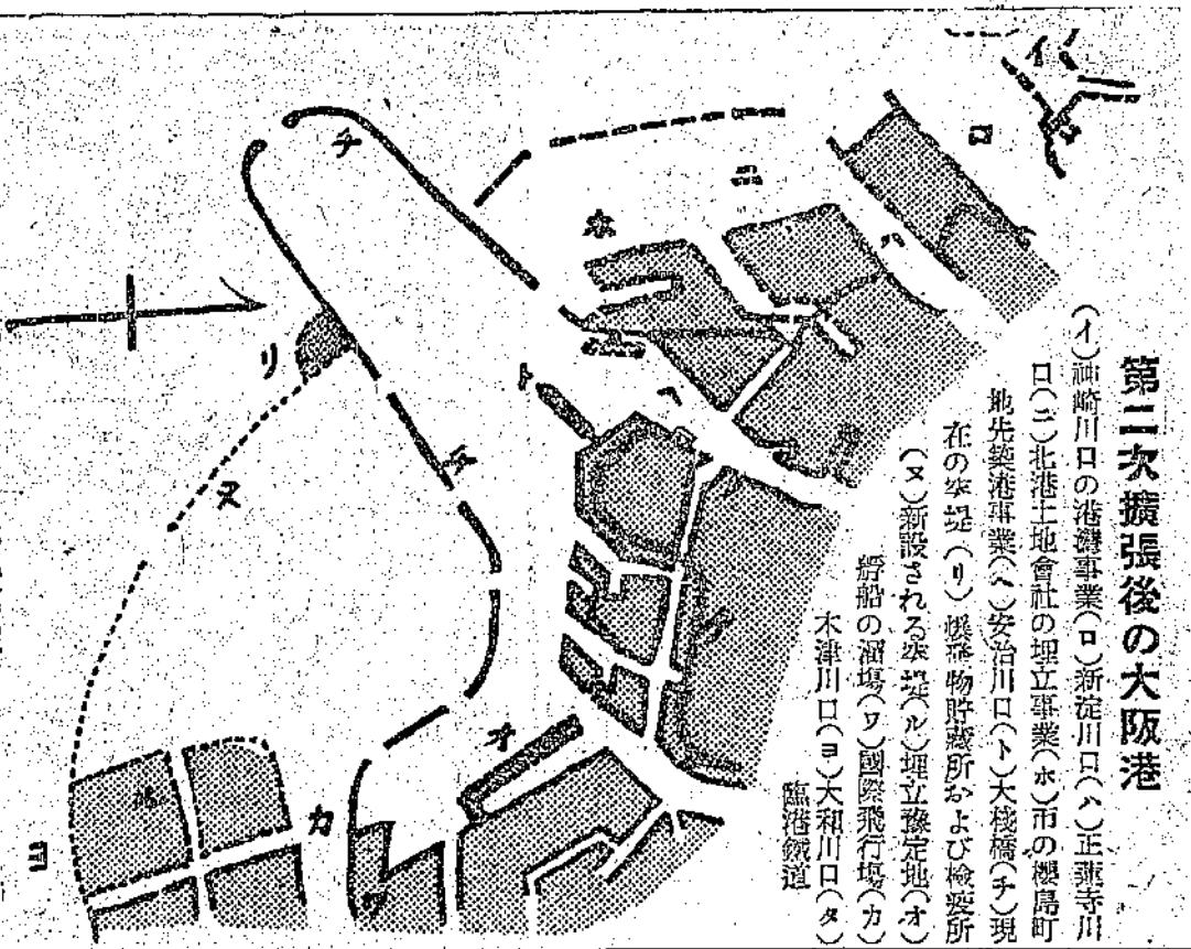 木津川飛行場@築港計画