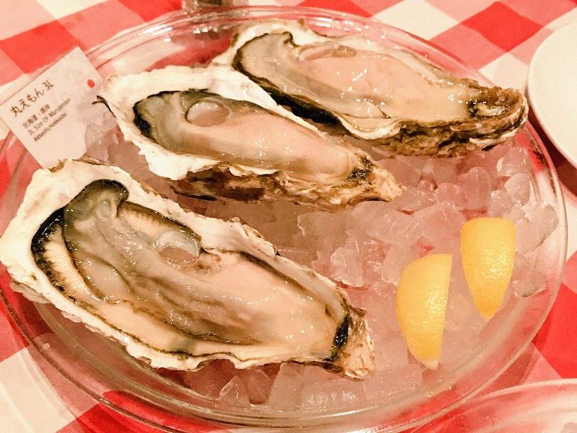 新宿三丁目のOstrea(オストレア)の生牡蠣