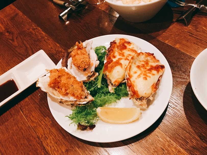 新宿三丁目のOstrea(オストレア)のカキフライと牡蠣グラタン