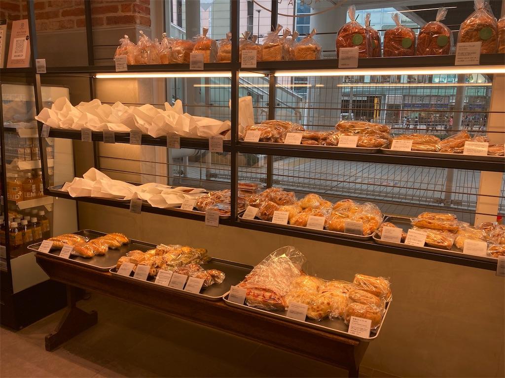 JR中央線新宿駅南口のサザンテラスのBOULE'ANGE(ブールアンジェ)のパン