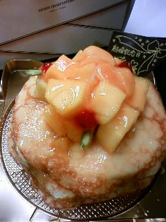 結婚記念日ケーキ1