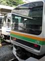 [JR]逗子駅+横須賀線E217系・湘南新宿ラインE231系