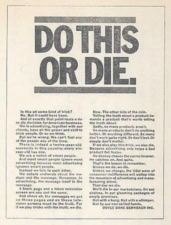 DO THIS OR DIE./これをするか、さもなくば死になさい