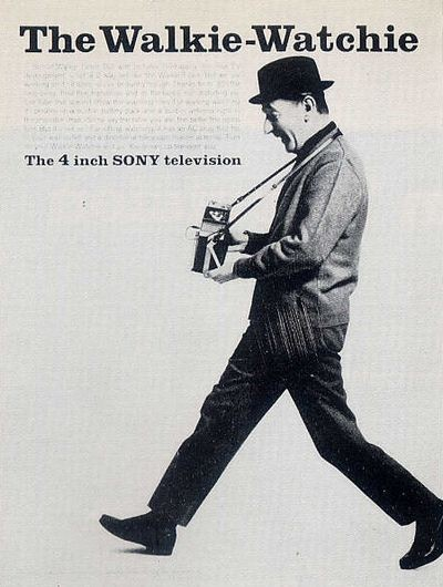 The Walkie-Watchie / The 4 inch SONY television