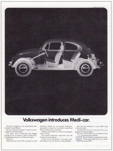 Volkswabgen introduces Medi-car.