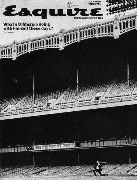 July 1966/What's DiMaggio doing with himself these day?