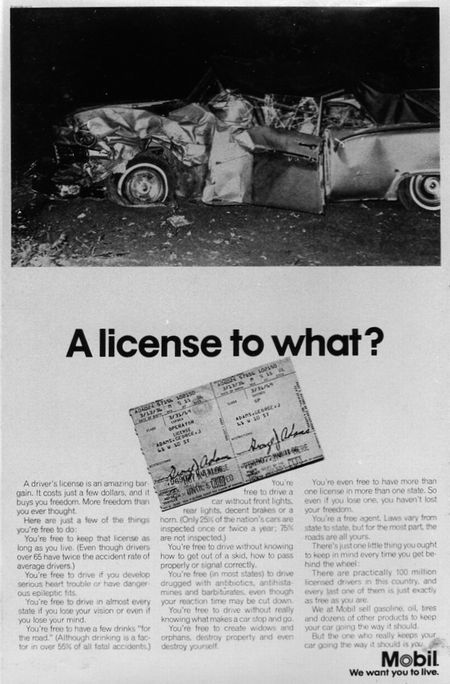 A license to what?
