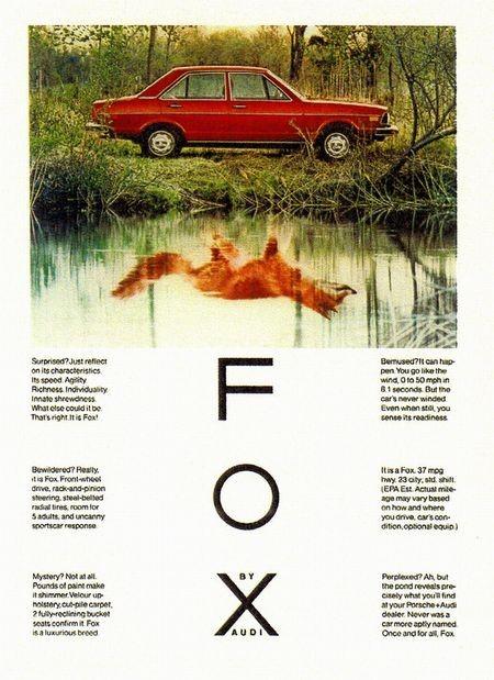 [Audi][FOX][Helmut Krone][ad]