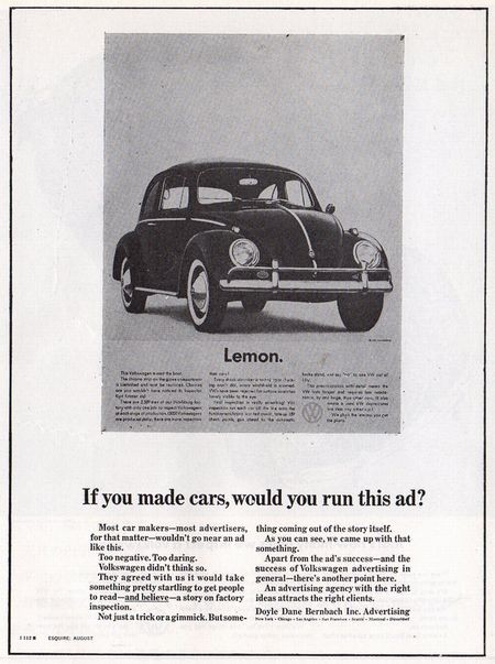 If you made cars, would you run this ad?