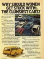 [VOLVO][1973]WHY SHOULD WOMEN GET STUCK WITH THE CLUMSIEST CARS?