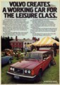 [VOLVO][1974]VOLVO CREATES A WORKING CAR FOR THE LEISURE CLASS.