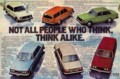 [VOLVO][1976]NOT ALL PEOPLE WHO THINK, THINK ALIKE.
