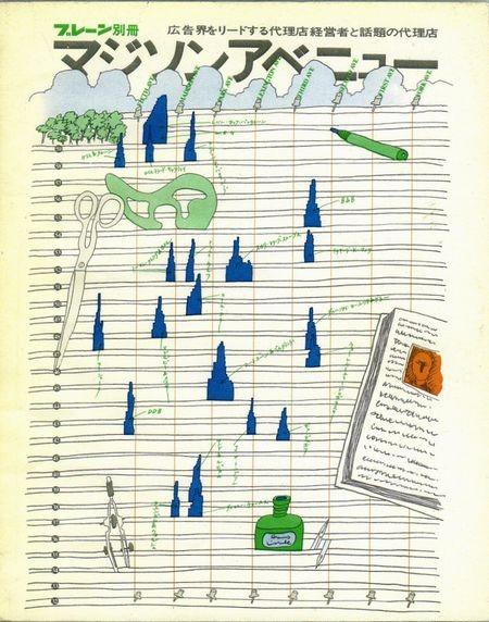 [誠文堂新光[Benton & Bowles][Alvin Hampel]社][1972]ブレーン別冊『マジソンアベ