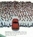 [1972][VW][John Noble][Tom Yobbagy][Charles Piccirillo]Try looking at a Volkswagen this way: