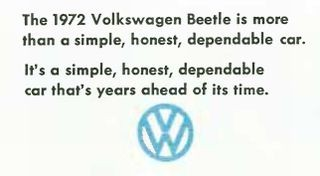 Try looking at a Volkswagen this way: