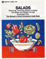 "[John Alcorn][Signet]""SALADS"" The Woman's Home Companion Cook Book"