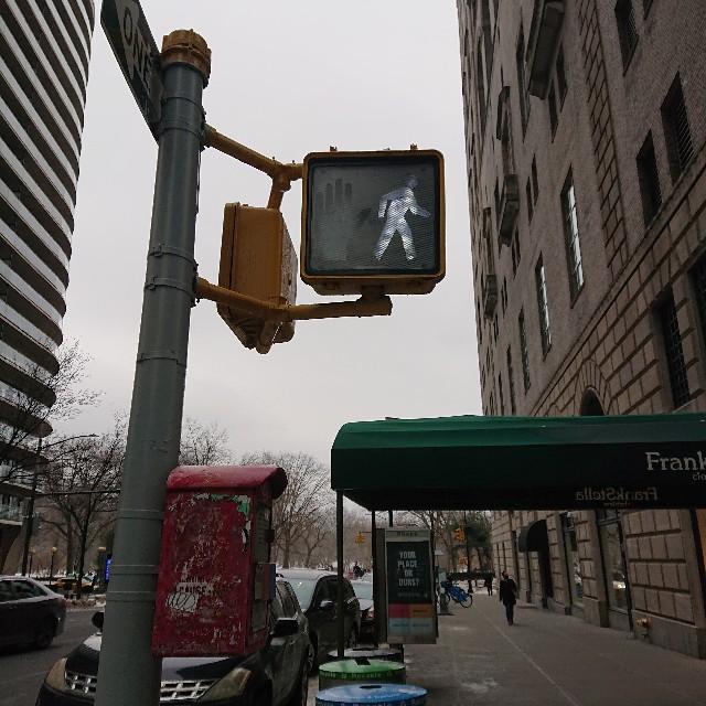 ニューヨークの信号