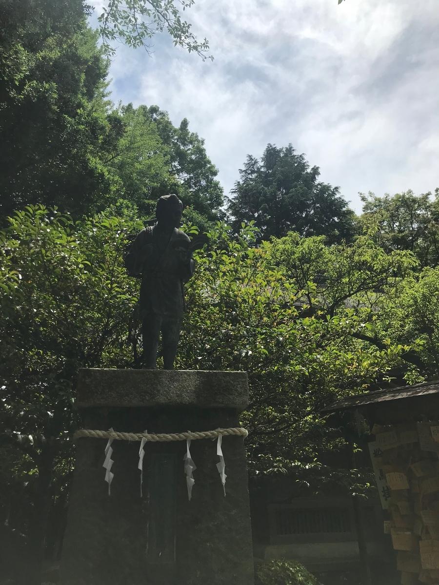 報徳二宮神社 神奈川県小田原市 二宮金次郎像