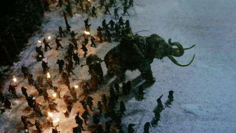 巨人とマンモス ゲーム・オブ・スローンズ4