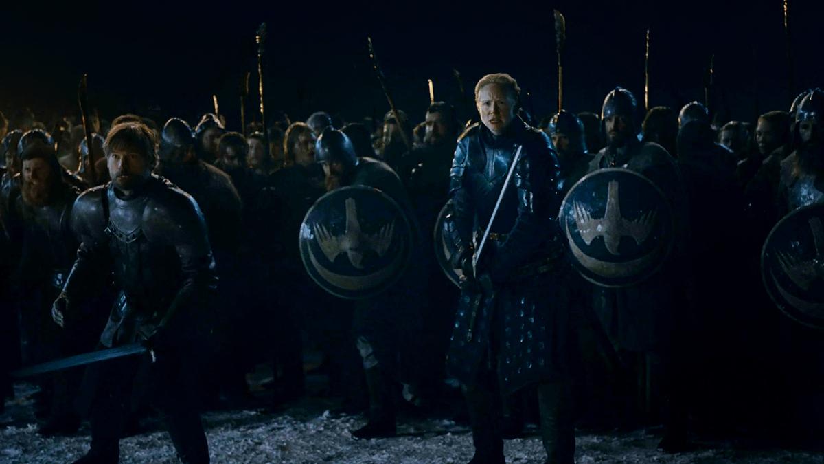 ブライエニーとジェイミーの軍