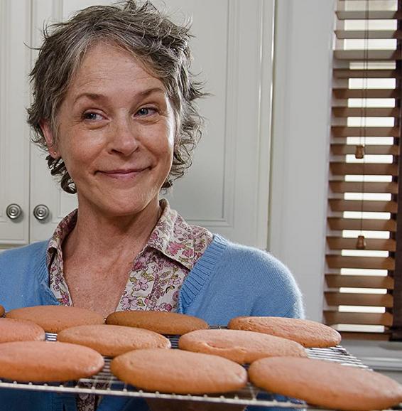 どんぐりクッキーを作ったキャロル