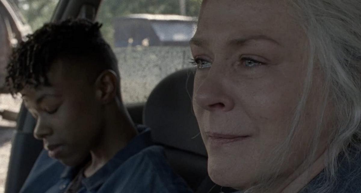 コニーの前で泣いたキャロル