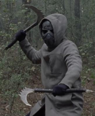 ウォーキング・デッド10第16最終話のマスク戦士