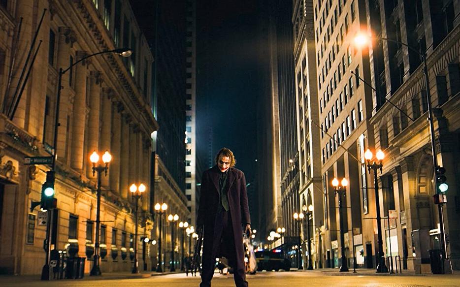 ダークナイトの街並み(シカゴ)