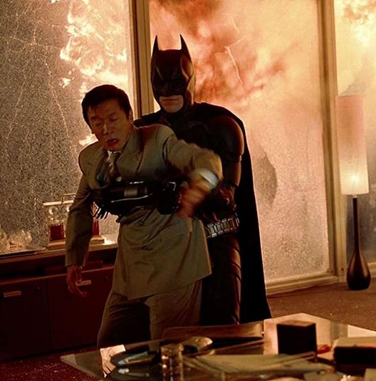 バットマンとラウ