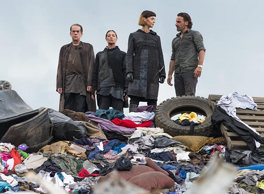 清掃人が暮らすゴミ山
