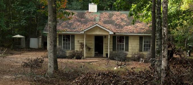 ドワイトとシェリーが住んでた家