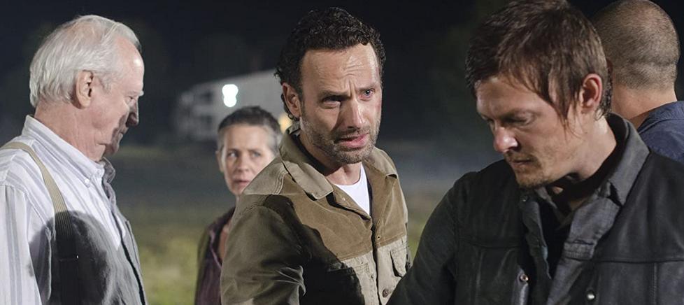 シーズン2第11話のハーシェル、リック、ダリル