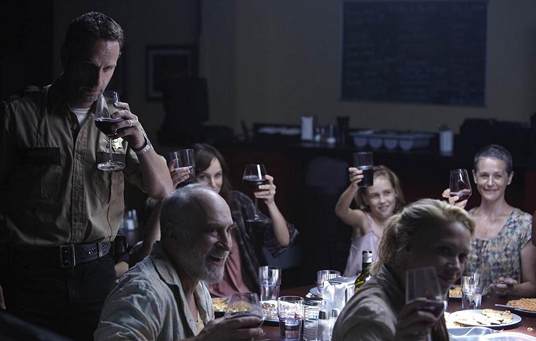 ワインパーティーをするリックグループ