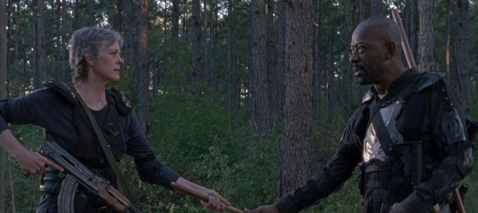 ウォーキング・デッド8-14話キャロルとモーガン