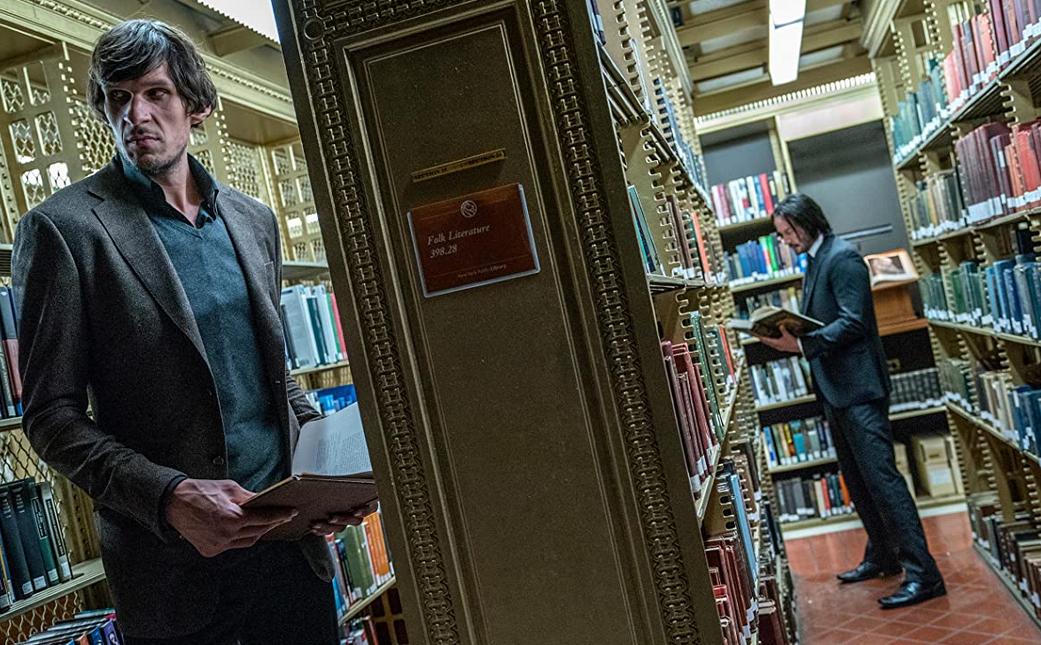 図書館のジョン・ウィック3