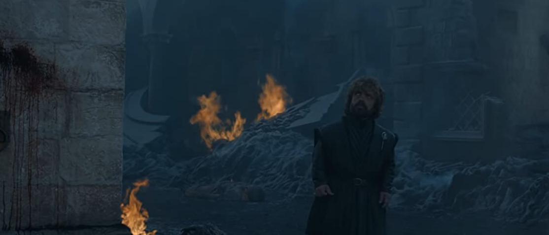 灰の中を歩くティリオン