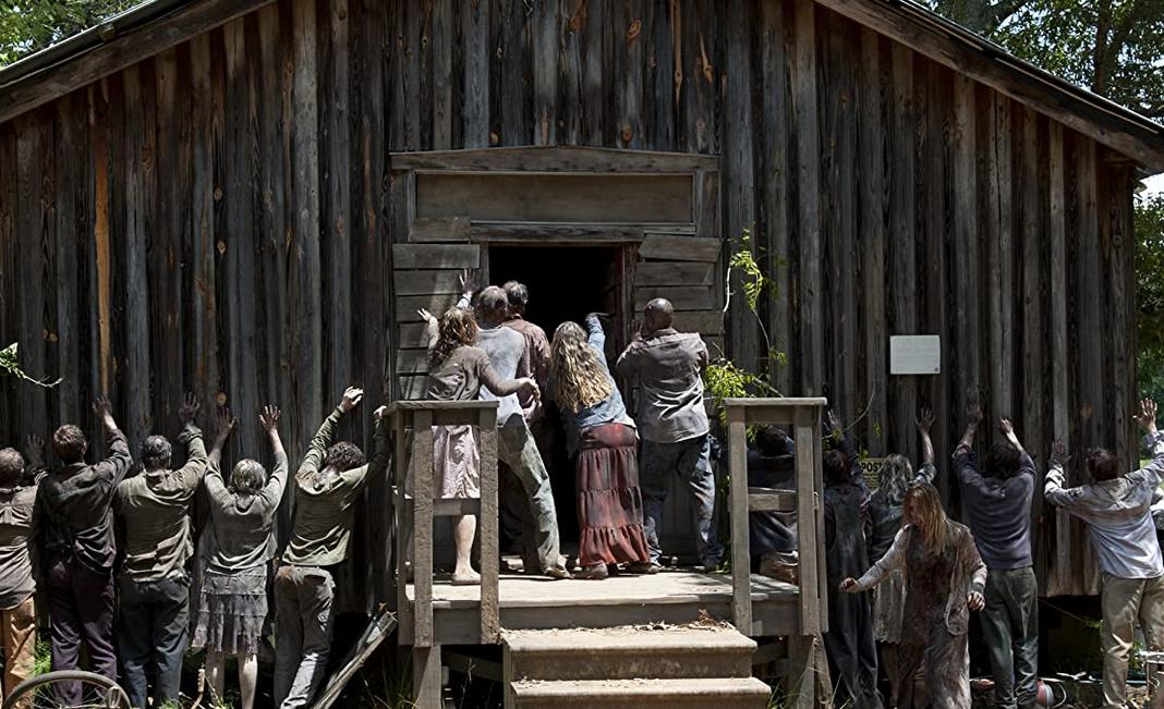 ウォーキング・デッド3-7話の小屋