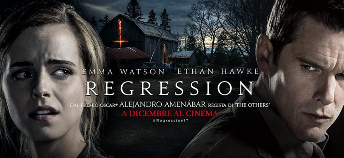 映画リグレッション(regression)