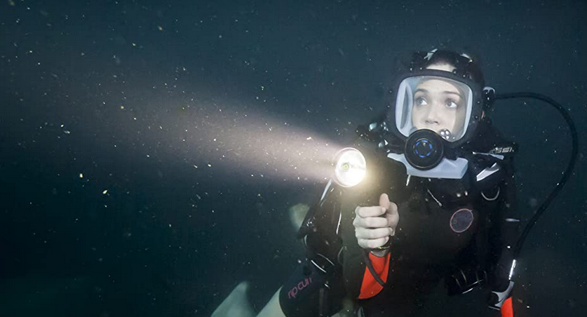 海底47mの男性が死んだシーン