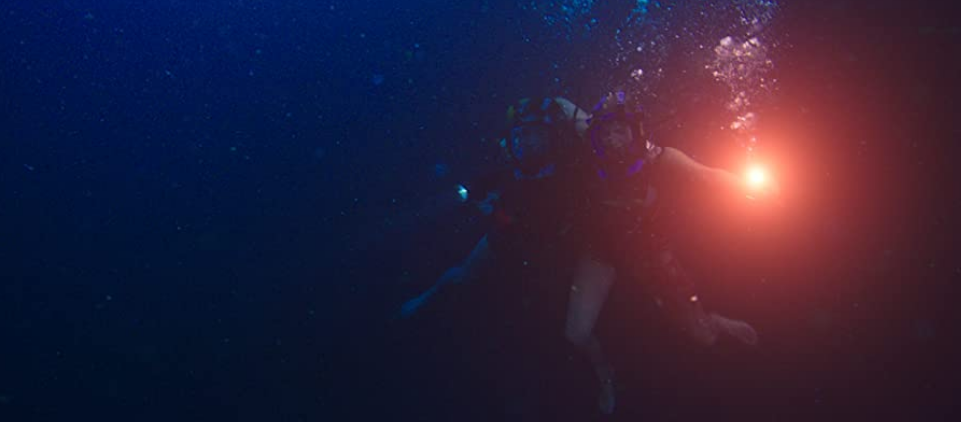 海底47mの終盤