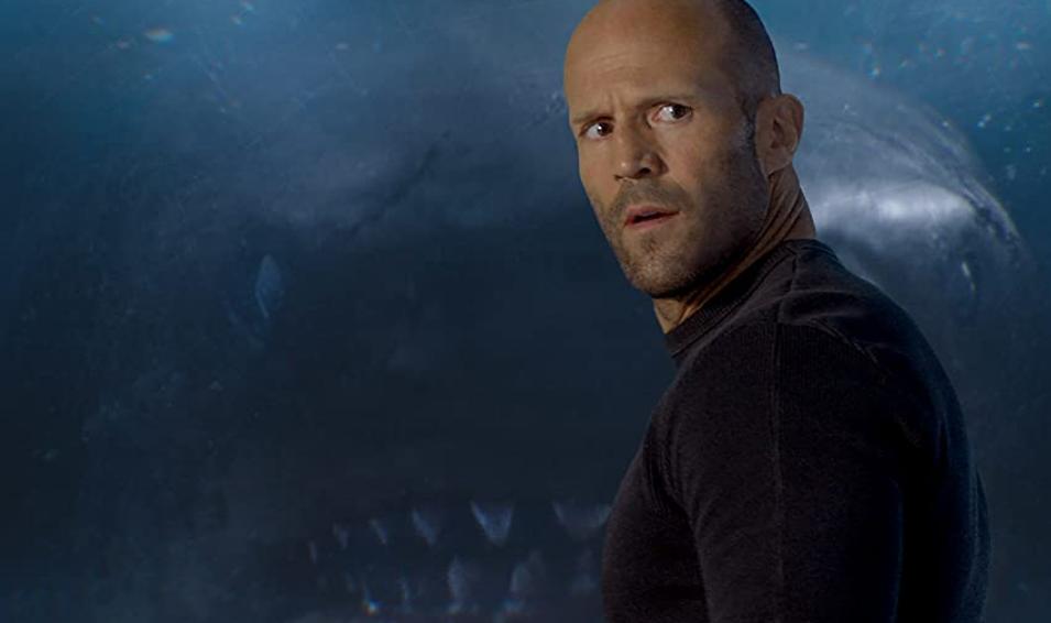 サメを恐れないジェイソンステイサム(映画MEG)