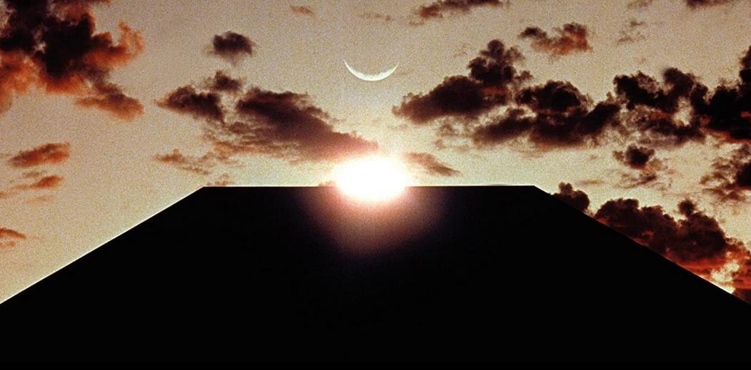 2001年宇宙の旅のモノリス