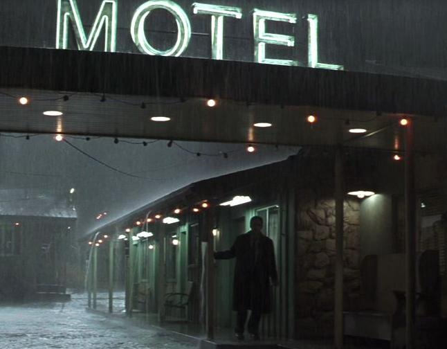 映画アイデンティティのモーテル