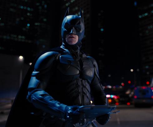 ダークナイトライジングのバットマン