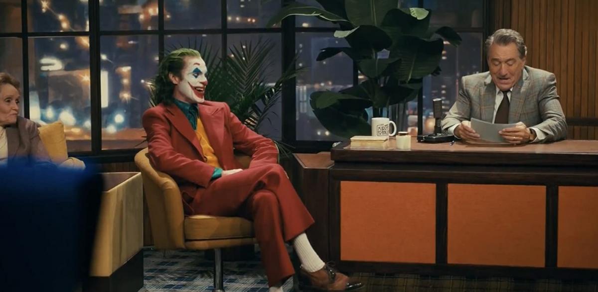 映画ジョーカーのロバート・デ・ニーロ